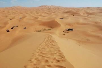 Erg chabbi dunes