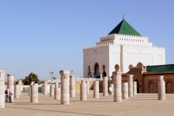 rabat mohamedV tomb